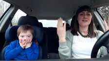 Mums from South West take part in tear-jerking video
