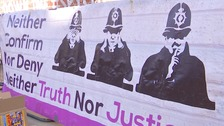 Campaigners walk out of undercover policing inquiry