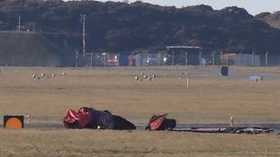 RAF crash