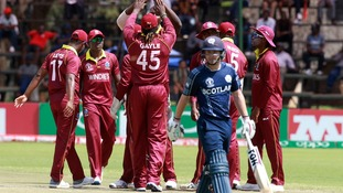 Scotland suffer Cricket World Cup qualification heartbreak at the hand of West Indies