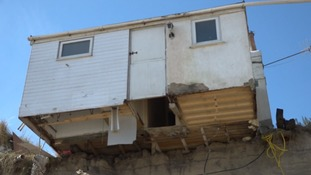 There are fears that clifftop homes at risk of toppling into the sea may put off Easter visitors to Hemsby