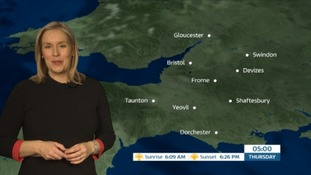 A dry frost-free night for the West