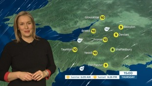Breezy but mild day for the West