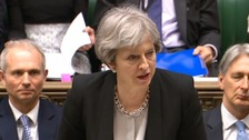 May to ask EU to stand together against Russian threat