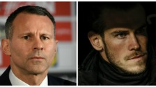 Wales boss Giggs 'feels pressure' to play Bale