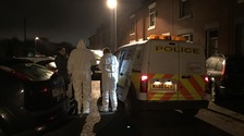 Hunt for gunman after man shot in Heywood