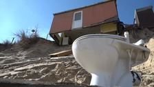 Five homes hit by erosion at Hemsby to be demolished
