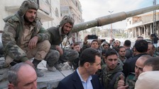 Syrian government troops close in on besieged eastern Ghouta