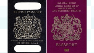 Sacré bleu! Theresa May urged to explain why post-Brexit blue passport 'set to be made by Franco-Dutch firm'