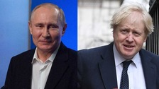 Russia warns Boris Johnson 'do not compare us to Nazis'