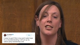 Jess Phillips has questioned the Party's procedure for dealing with harassment allegations