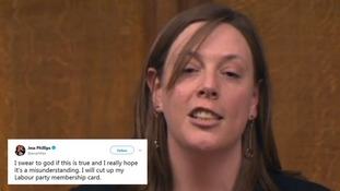 MP Jess Phillips threatens to 'cut up party membership card' over Labour's treatment of sexual harassment victims