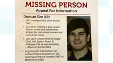 Search continues for missing student