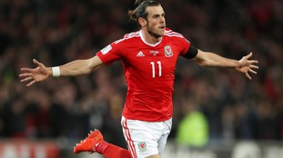 Bale hits hat-trick and claims scoring record as Wales thrash China