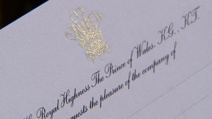 Royal wedding invitations are on their way ITV News