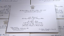 Royal wedding invitations are on their way