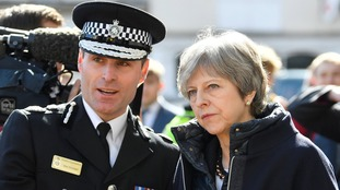 Chief Con Pritchard met with both Theresa May and Amber Rudd in the wake of the attack.