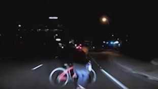 Uber self-driving crash: Police release video footage showing moments before vehicle fatally hit pedestrian