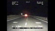 Drunk driver jailed after 139mph police chase
