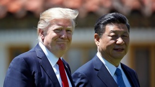 Trump hits China with tariffs raising the prospect of a trade war