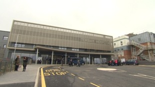 Lockdown at Torbay Hospital