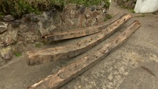 Remains of historic ship found under pub floorboards