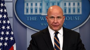 Mr McMaster was brought in after Mr Trump's first national security adviser Michael Flynn was dismissed.