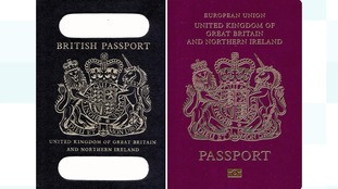 The UK's post-Brexit blue passports will be made by French company Gemalto.