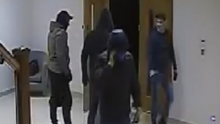 Detectives believe the same group are responsible for a number of burglaries in the area.