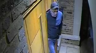 This CCTV is from a break-in at a home in Keston in February.