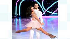 Quickenden will be singing and skating in the Dancing on Ice Tour