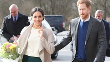 Prince Harry and Meghan Markle in Northern Ireland