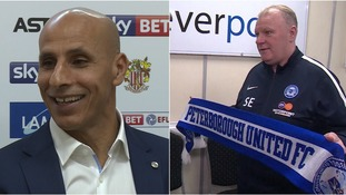 Two managers who will be desperate for good results this weekend