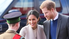 Harry and Meghan in Belfast to promote 'peace-building'