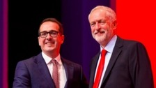 Corbyn sacks former leadership rival Smith from shadow cabinet