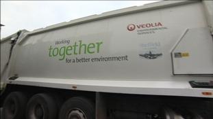 Veolia lorry