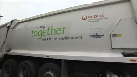 Veolia lorry