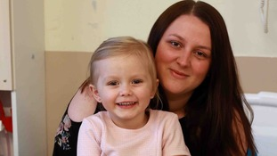 Quick-thinking little girl awarded for her bravery after saving her mum's life