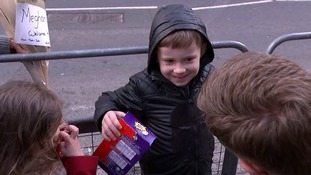 Belfast boy refuses to hand over Easter egg gift to Prince Harry and Meghan Markle