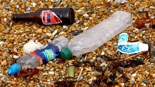 """The conservation group wants governments across the UK to implement policies to tackle the problem, including a """"latte levy"""" on single-use drinks cups, and a deposit return scheme to encourage plastic bottle recycling."""