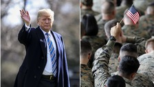 Trump bans most transgender troops from the military