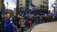Thousands take part in Stop Brexit march