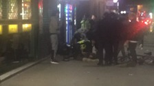 Two people shot outside Mile End tube station