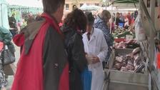 Market in Salisbury