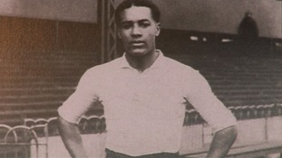 Walter Tull, first black officer in the British Army and footballer