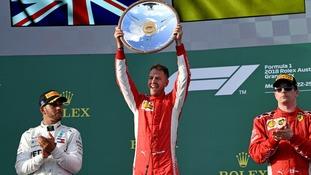 Vettel beats Hamilton in Melbourne following Mercedes pit-stop error in F1 opener