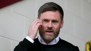 Graham Alexander sacked as Scunthorpe United boss