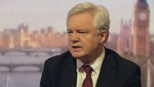 David Davis said a trade deal with the EU would be 'the most comprehensive one ever'.