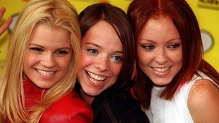 The original Atomic Kitten line-up pictured in September 2000.