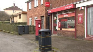 The incident took place at a newsagent in Armson Road in Exhall.